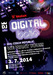 Digital DJ battle 2014 (official poster)