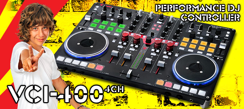 Vestax VCI-400 4CH-Professional DJ Controller