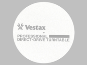 Vestax slipmat TURNTABLE WHT